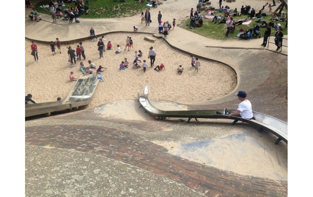 Детские площадки. Европейский опыт.
