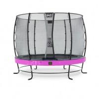 Батут Exit Elegant PREMIUM  Purple 305 cм с защитной сеткой