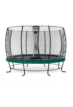 Батут Exit Elegant PREMIUM Green  427cм с защитной сеткой