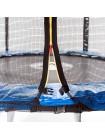Батут Atleto 252 c защитной сеткой и лесенкой
