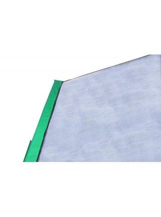 Батут Kidigo 426см с защитной сеткой зеленый