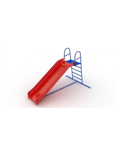 Горка Пластиковая, высота 1,2 м
