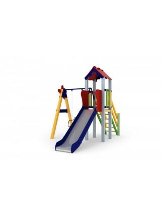 Дитячий комплекс Кроха, висота гірки 1,2 м