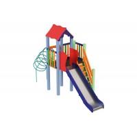 Дитячий комплекс Медуза, висота гірки 1,2 м