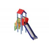 Дитячий комплекс Міні, висота гірки 1,2 м