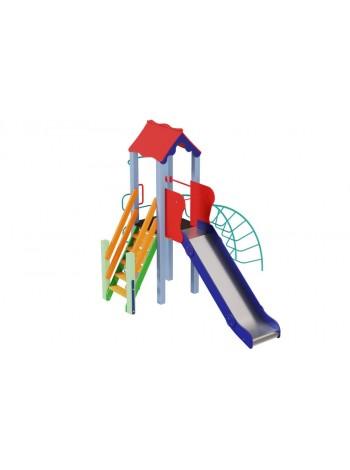 Детский комплекс Петушок, высота горки 1,5 м