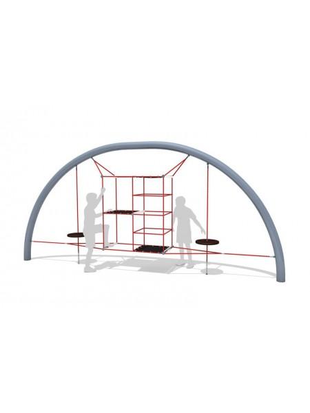 Канатний гімнастичний комплекс А37