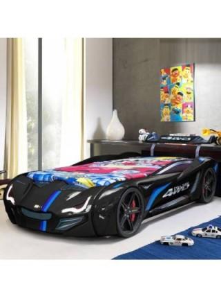 Кровать машинка BMW VIP черная