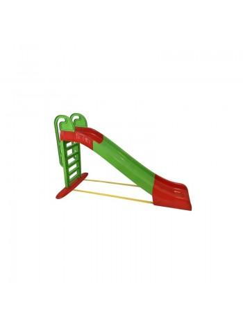 Гірка для дітей 243см зелена