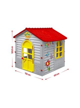 Mochtoys будиночок для дітей-сірий № 013