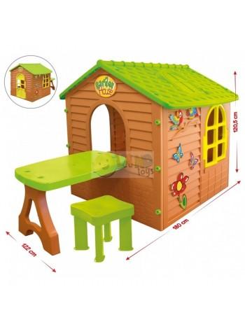 Mochtoys будиночок + столик № 04