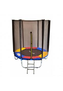 Батут Just Fun 183см Multicolor із захисною сіткою