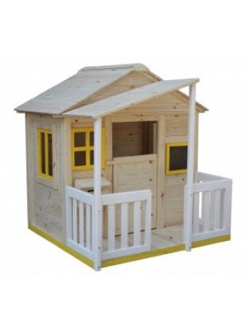 Ігровий будиночок для дітей з верандою