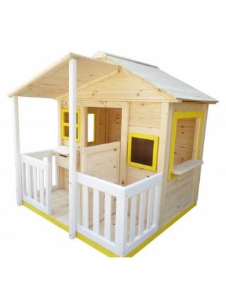 Игровой домик для детей с верандой