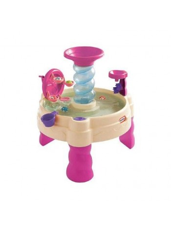 Водный столик-песочница Little Tikes спиральный фонтан