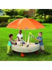 Дитяча Пісочниця Столик Веселе Будівництво Little Tikes 401N