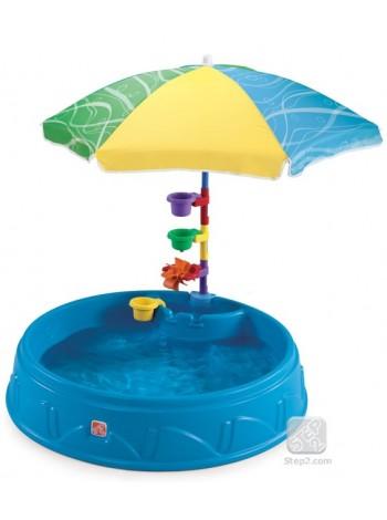 Басейн садовий з парасолькою Play & Shade Step2 71600