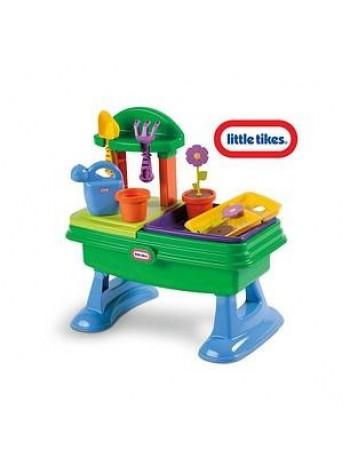 Ігровий стіл-пісочниця Little tikes Юний садівник 630453m