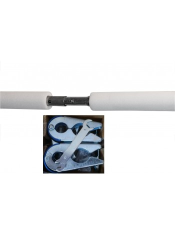 Комплект металевих елементів сітки для батута KIDIGO VIP BLACK 244 см