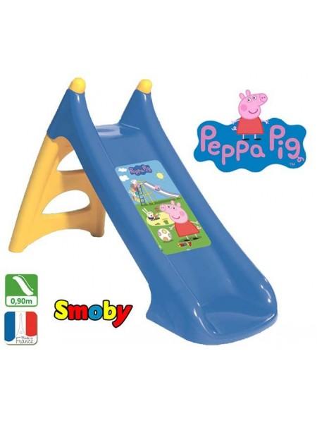 "Дитяча гірка водним ефектом Smoby 820609 ""Свинка Пеппа"""