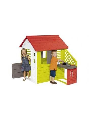 Игровой домик Smoby 810713 Nature