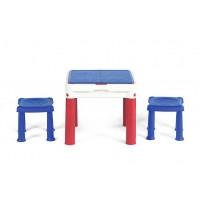 Стіл для гри з конструктором 3в1 Keter Constructable 17210603