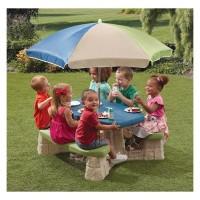 Дитячий Столик для Пікніка з Парасолькою Step2 8438