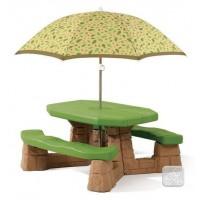 Столик для пикника с зонтиком Step2 7877