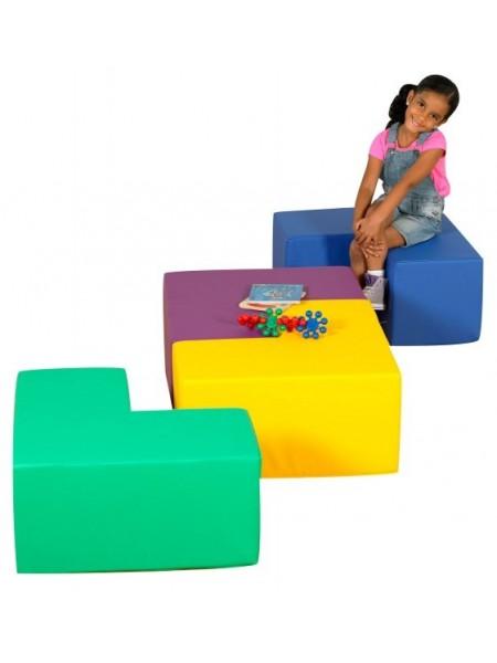 Модульні сидіння-столик Геометрія Тia-sport
