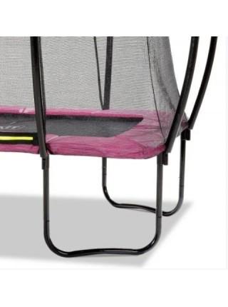 Батут EXIT Silhouette прямокутний 153x214 рожевий