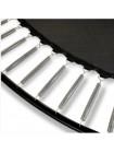 Батут EXIT PeakPro 366см чорний з захисною сіткою