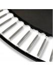 Батут EXIT PeakPro 427 см чорний з захисною сіткою