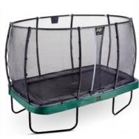 Батут EXIT Elegant Premium 244х427 cm прямокутний green