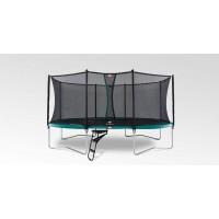 Батут BERG Grand Favorit Regular 520 см Green + захисна сітка Comfort