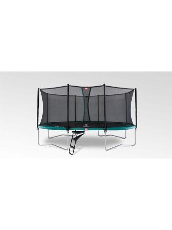 Батут BERG Grand Favorit Regular 520 см Green + защитная сетка Comfort