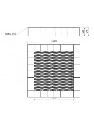 Батут встраиваемый 2×2 BruStyle BRI076.2