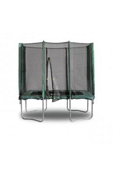 Прямоугольный батут KIDIGO 215 х 150 см. с защитной сеткой 61006