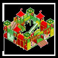 Дитячий майданчик Замок-сундук