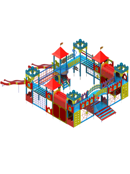 Игровой комплекс Замок-3