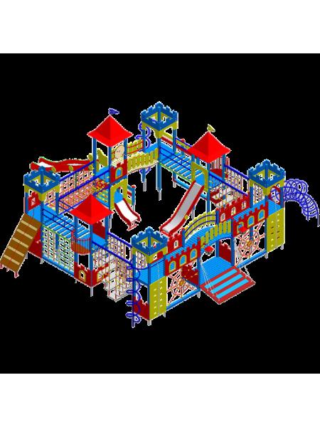 Игровая площадка Замок-5