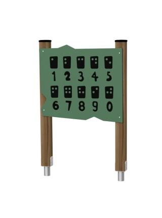 """Ігрова панель """"Логічні завдання"""" BruStyle DIO263hdpl"""