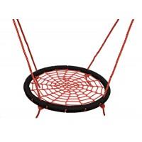 Качели Гнездо Аиста Lux 100 см красный
