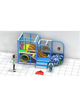 Игровой лабиринт «Рыбка»