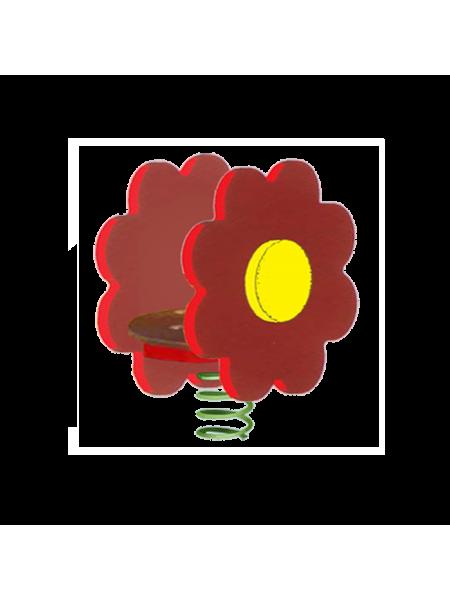 П035 Пружинная качель «Цветочек»