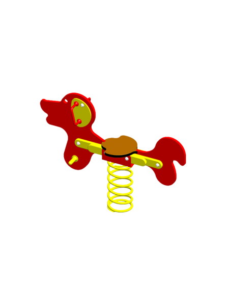 П039 Пружинная качель «Собачка»