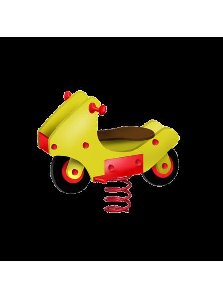 П063 Пружинная качель «Мотоцикл»