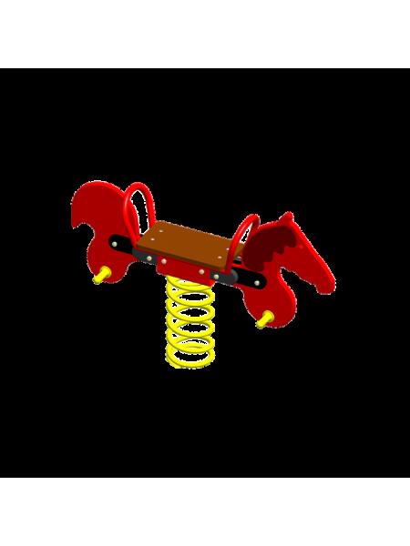 П061 Пружинная качель «Пони»