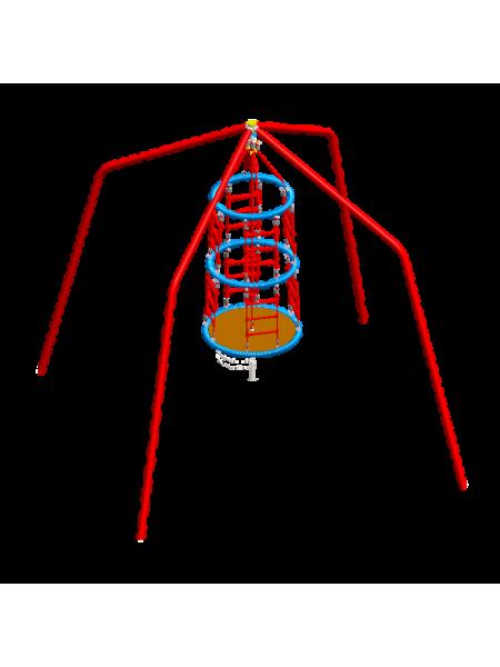 Качалка-карусель карданная