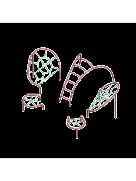 Канатный комплекс «Бабочка»