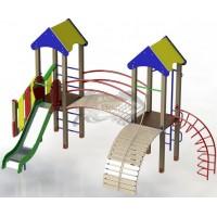 """Дитячий ігровий комплекс """"Дві вежі"""" BruStyle DIO702"""